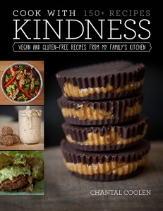 Cooking With Kindness vegan cook book_Cover