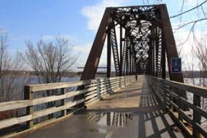 Walking Fredericton's Old Train Bridge
