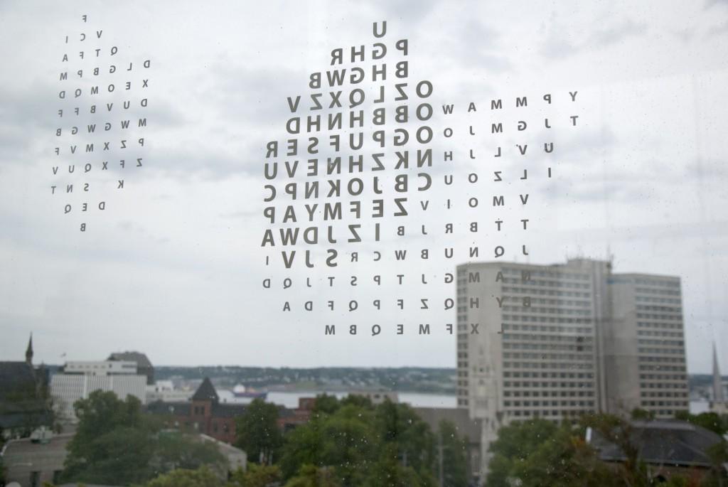 Halifax Central Library-window glazing