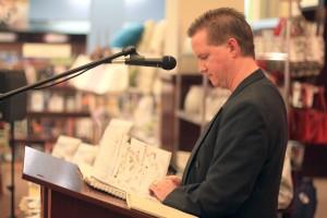 Dwayne LaFitte reading