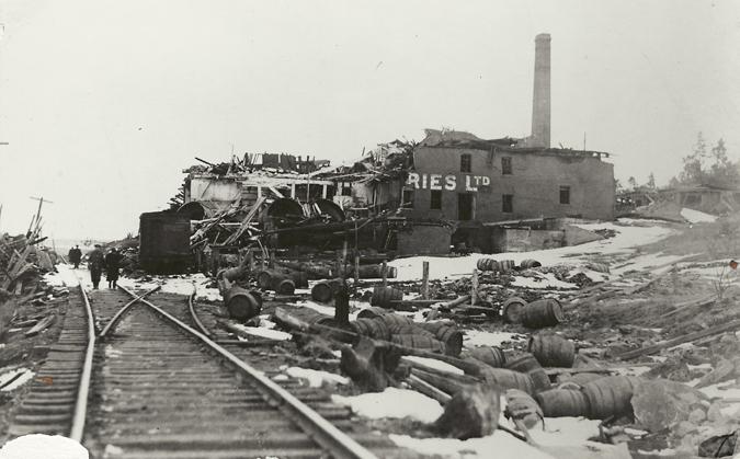 Oland Brewery-Halifax Explosion