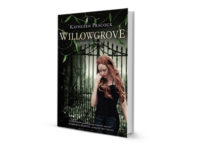 The third book in Kathleen Peacock's young adult series Willowgrove will hit the shelves Jan. 6,  2015. Books one and two, Hemlock and Thornhill, are available in paperback.