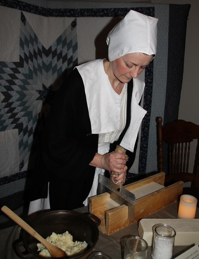 SLICE Soap maker Ann Ophaug