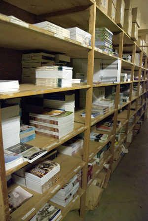 A handful of the more than 1,000 books Nimbus has published since 1978. Photo by Joseph Muise