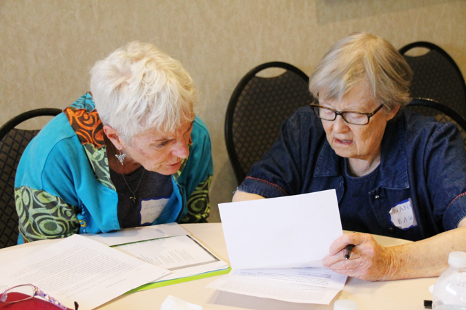 WFNB Johanna Bertin and Nancy Bauer