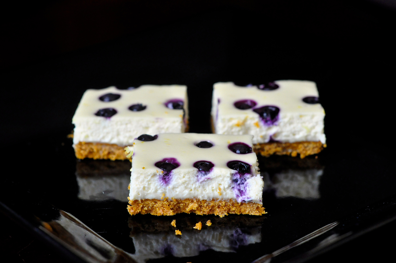 Lemon Blueberry Cheescake Bars Rock Recipes Barry Parsons