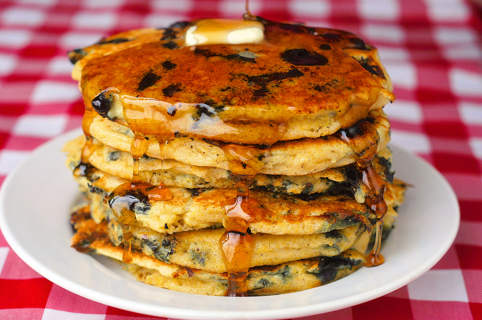Lemon Blueberry Pancake Rock recipes Barry parsons