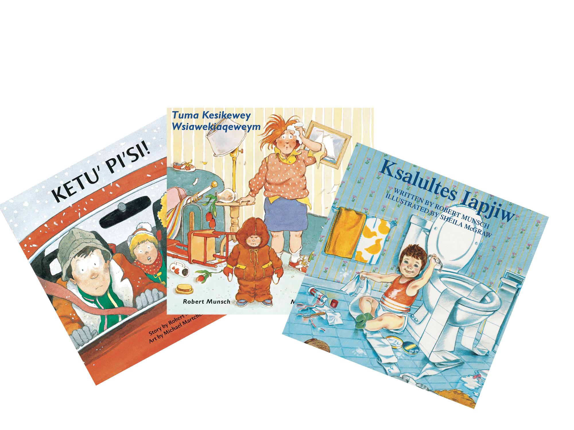 Munsch books