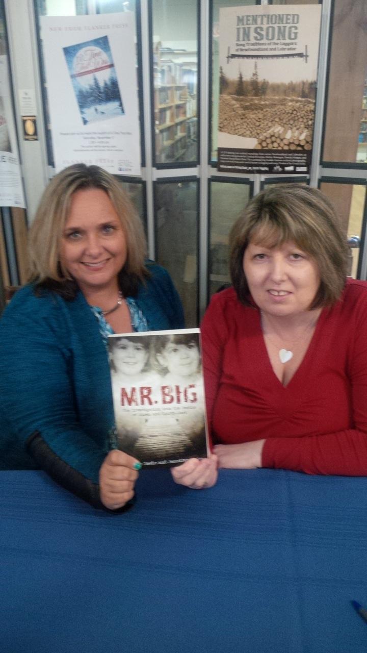 Mr Big release (Colleen and Jennifer)
