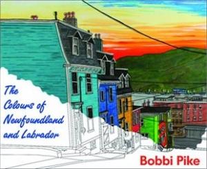 Colours of Newfoundland and Labrador flat