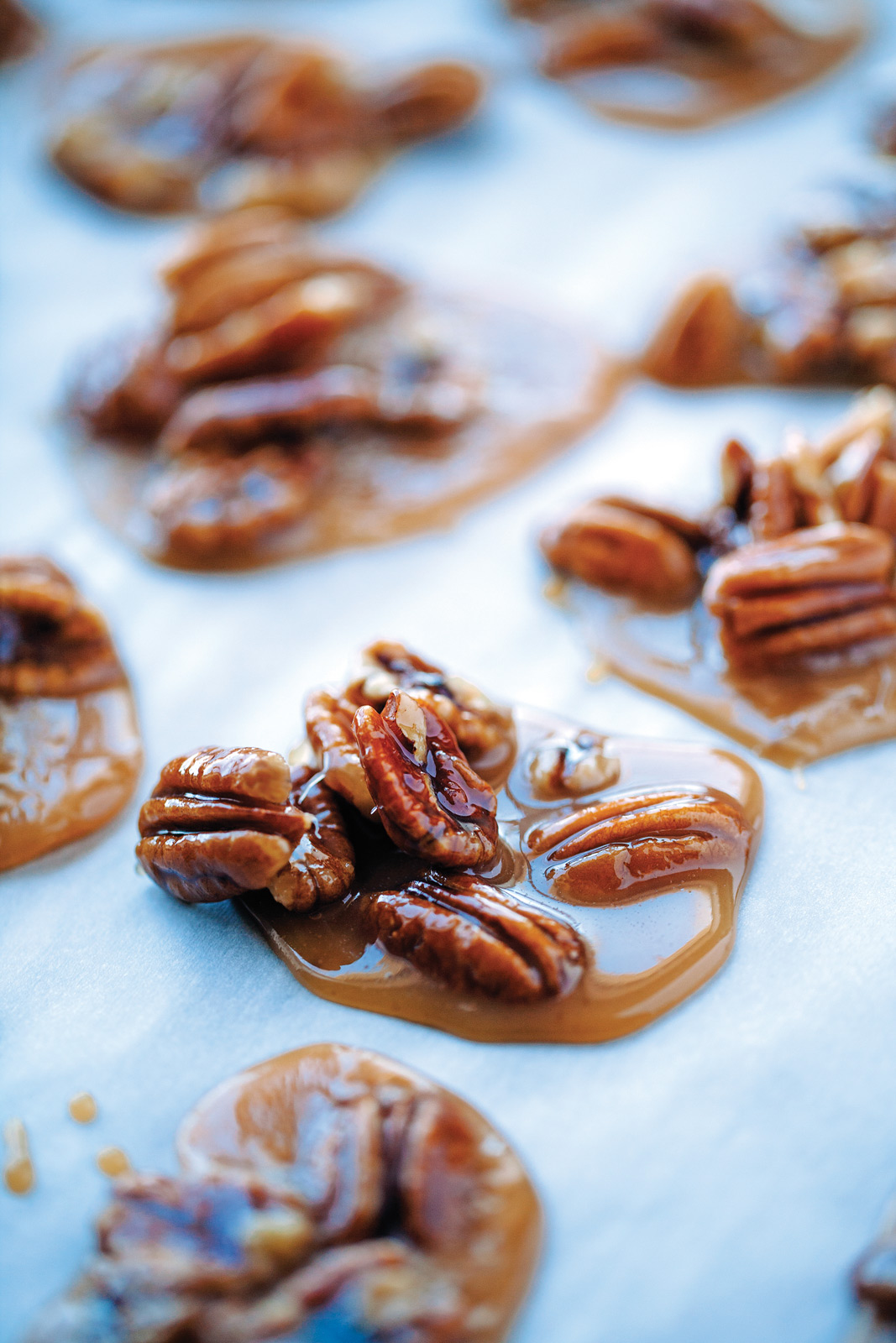 Cajun Pralines, from Alain Bossé's The Acadian Kitchen. Photo by Perry Jackson.