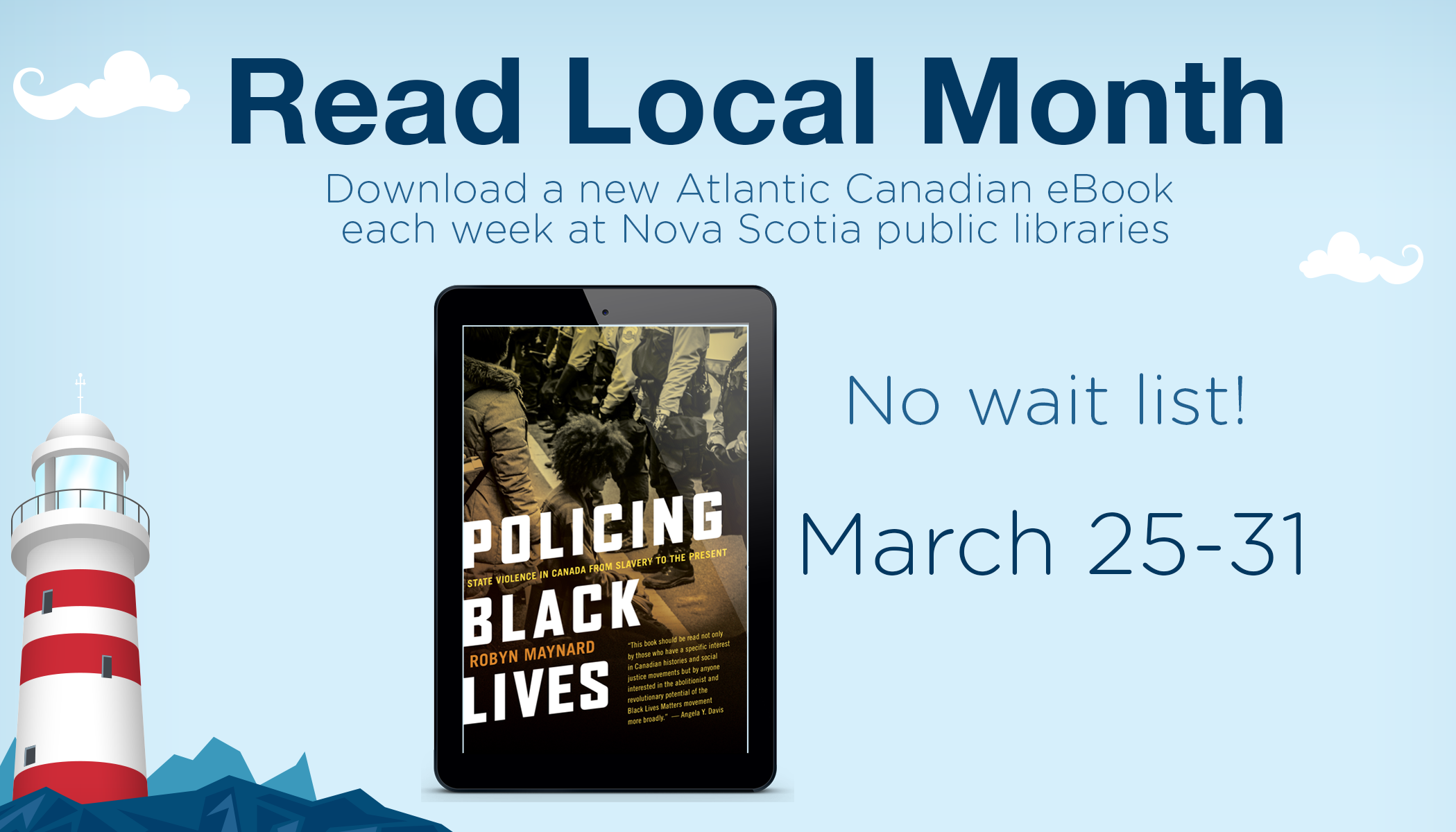 Read Local Month: Policing Black Lives