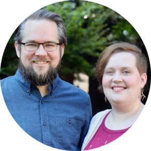 Photo Of author Robert Davis next to Author Megan Davis