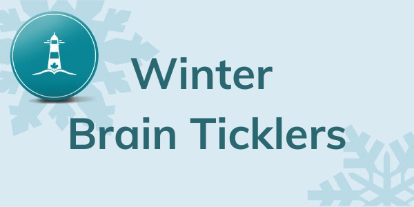 Winter Brain Ticklers