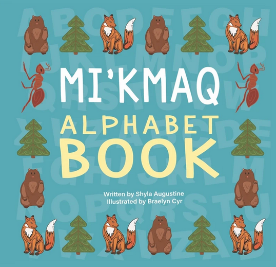 Mi'kmaq Alphabet Book