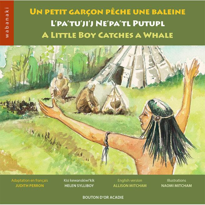 Cover photo of Un petit garçon pêche une baleine