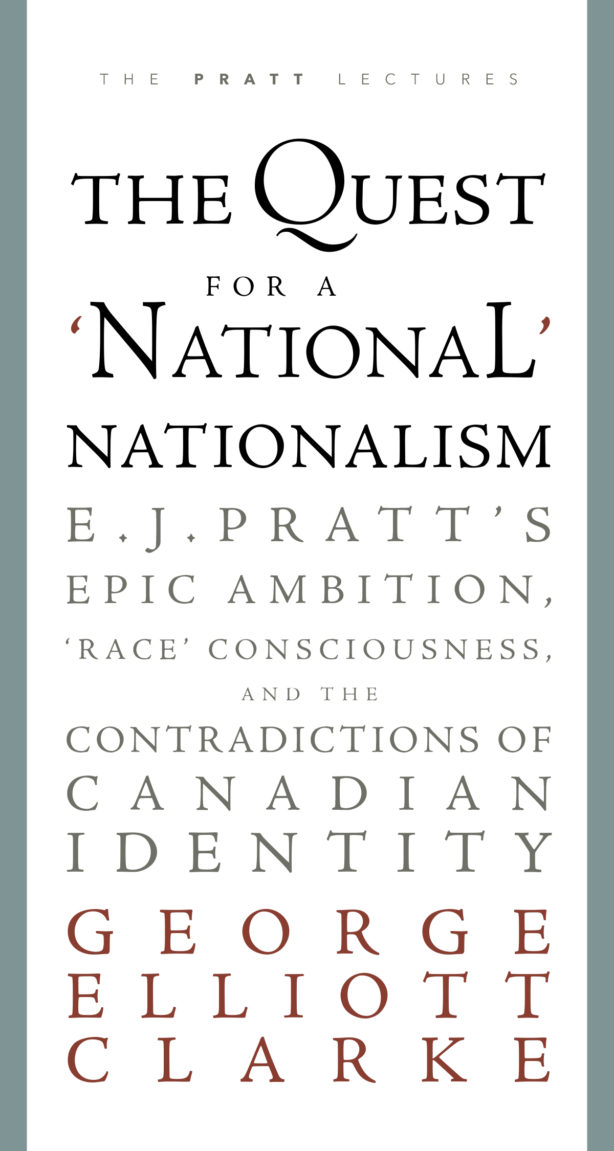 Audio Clip: Chris Benjamin on George Elliott Clarke's The Quest for a National Nationalism
