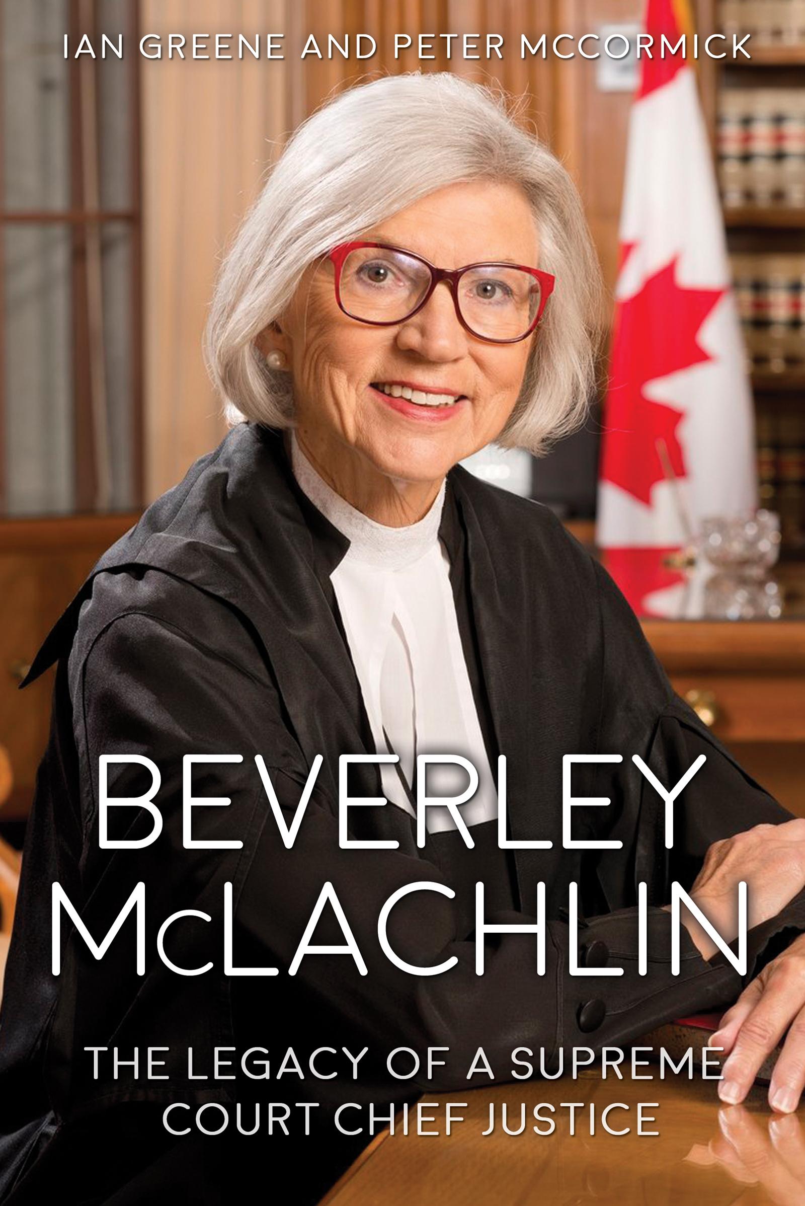 Beverley McLachlin – eBook