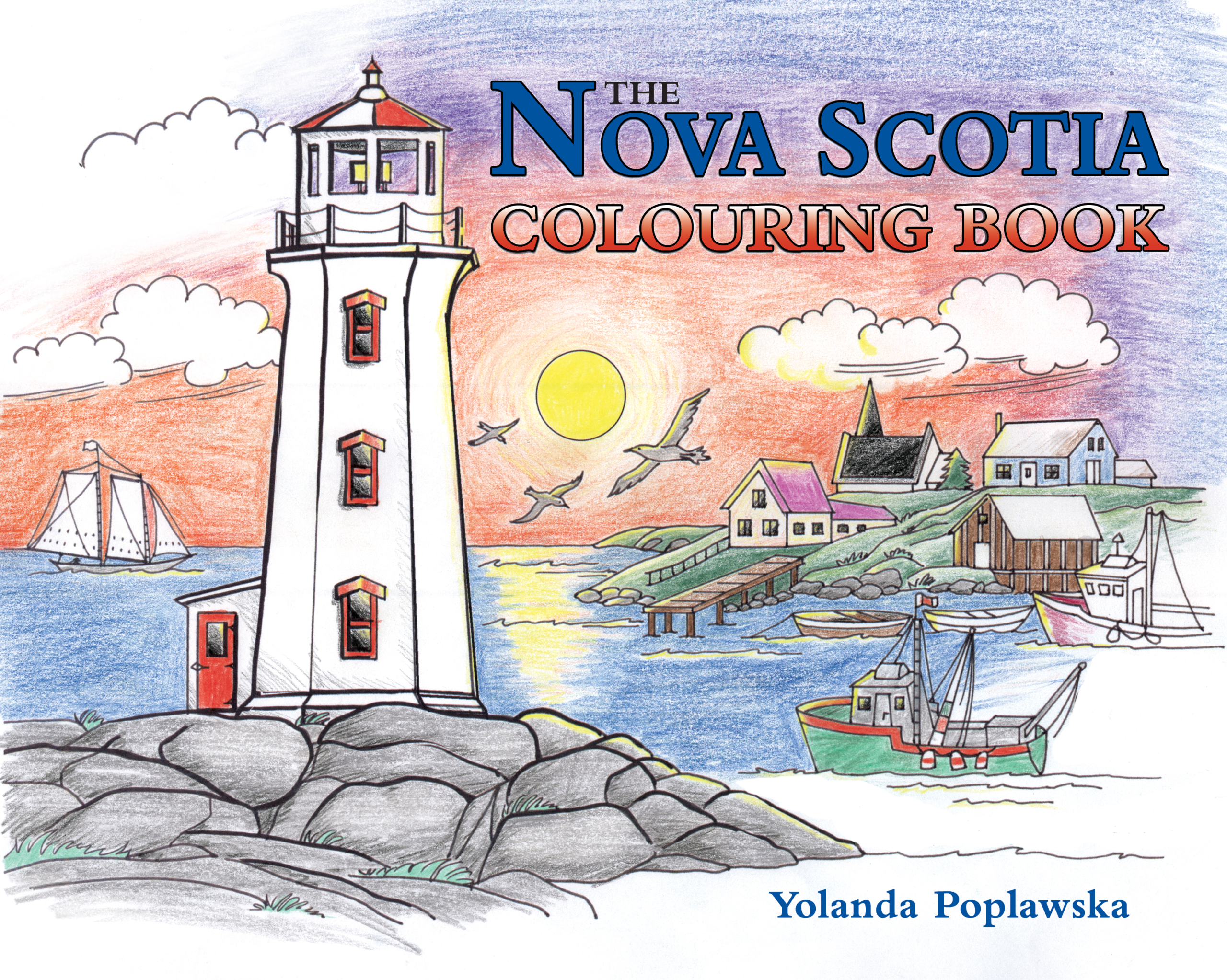 The Nova Scotia Colouring Book