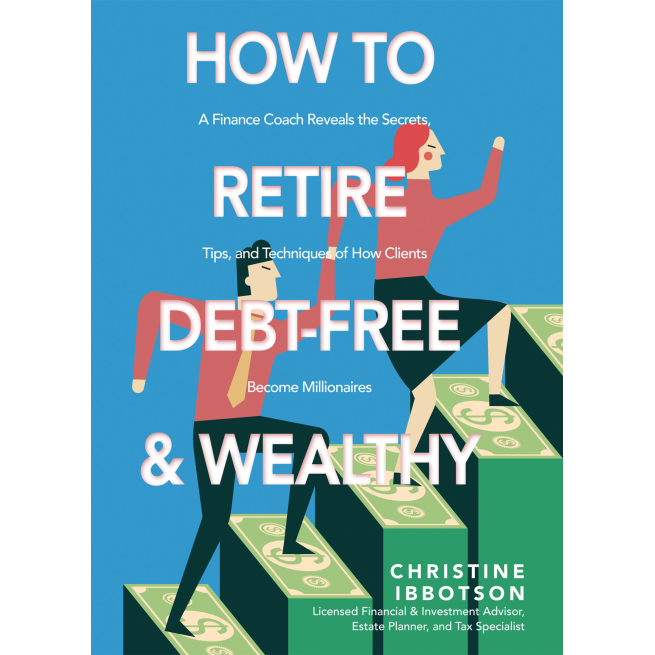 cover of how to retire debt free and wealthy