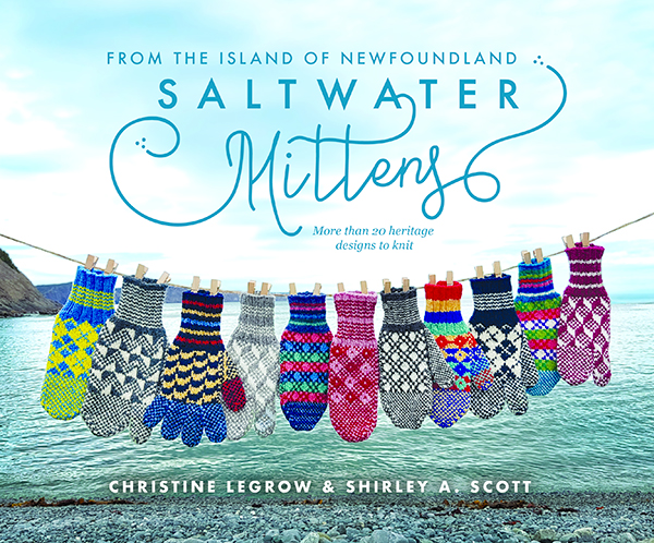 Saltwater Mittens from the Island of Newfoundland